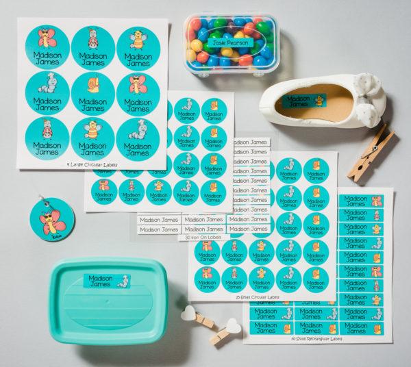 Labels for school - Pre-School Starter Pack