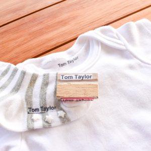 1-Line Laundry Stamp